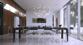 Glass Walls in 15 Modern Dining Areas