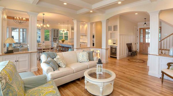 close to perfect traditional open living room ideas  home, Living room