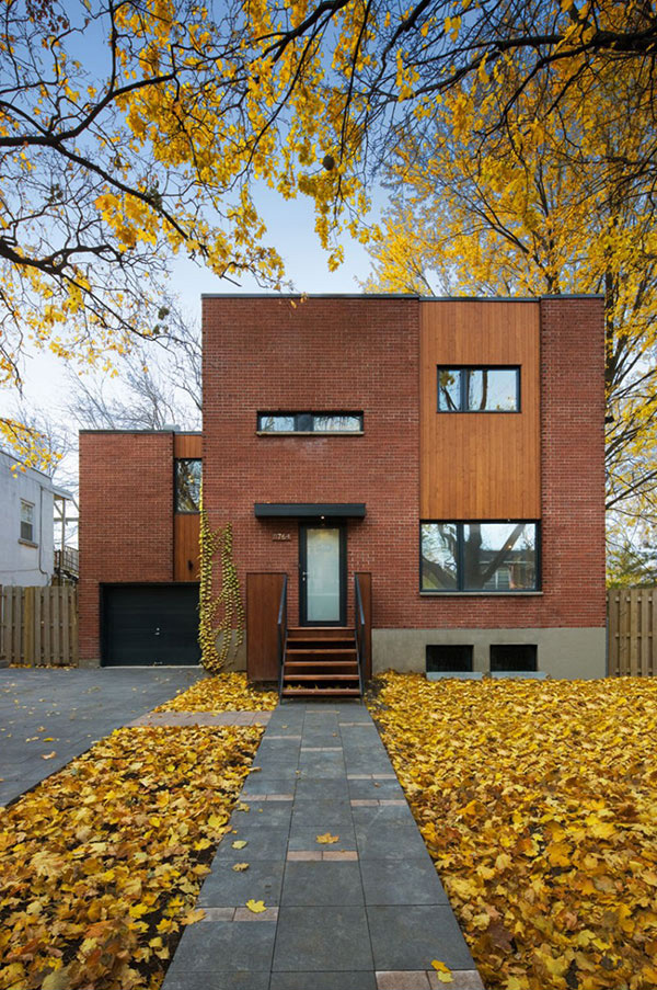 contemporary home renovation in montreal canada home