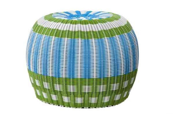 Accent Your Home With 15 Striped Ottoman Designs Home