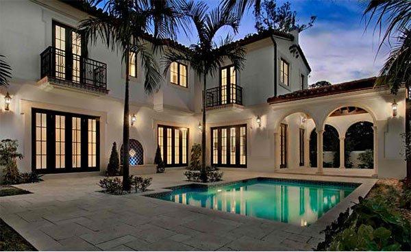 palm trees lightings