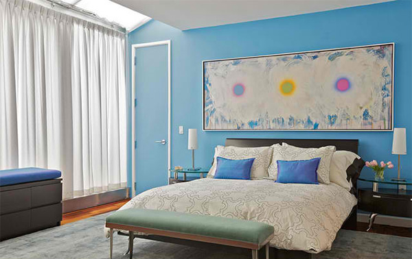 Beautiful Blue Modern Bedrooms