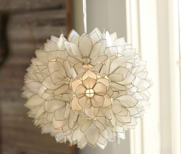 15 seashell ceiling lights to illuminate your space with