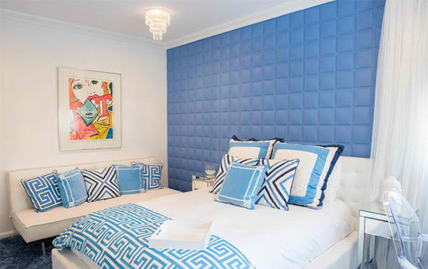 Modern Bedroom Blue 18 ideas for blue contemporary bedrooms | home design lover