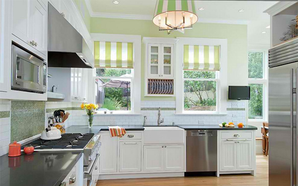 Pictures Of Green Kitchens