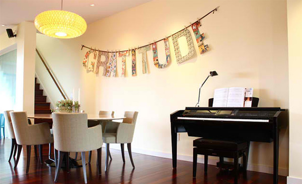 15 dining rooms decorated with letters