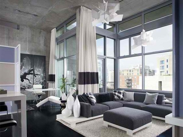 Ceiling Windows. Chipper Hatter Architectural Photographer. CitiZen Design  In San Diego Designed This Beautiful Living Room ...