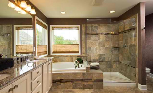 15 bathrooms with granite countertops | home design lover