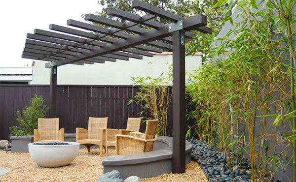 Bamboo gravel
