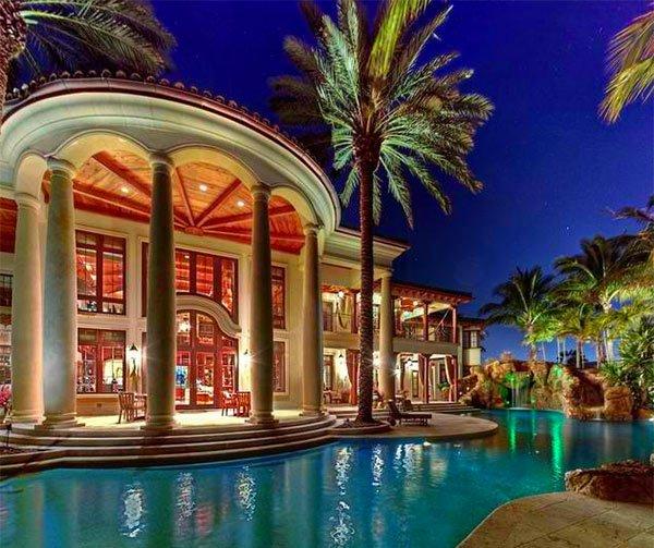 inviting pool area