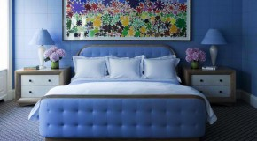 18 Ideas for Blue Contemporary Bedrooms