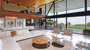 Clinton Residence of Beverly Hills: Linking With Nature At Its Best