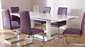 15 Posh Purple Dining Room Furniture