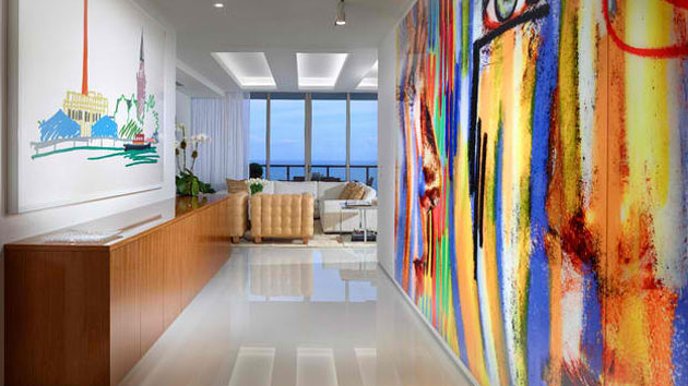 Foyer Layout Login : Contemporary hallways with art work decors home