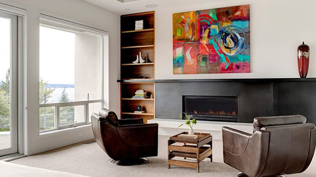 Lovely Contemporary Mercer Island Residence In Washington