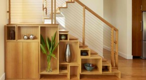 15 Ideas for Space-saving Under Staircase Shelves