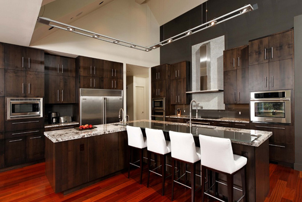 15 Astonishing Contemporary L Shaped Kitchen Layouts