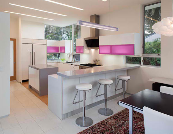 15 Astounding Peninsula Shaped Modern Kitchens Home Design Lover