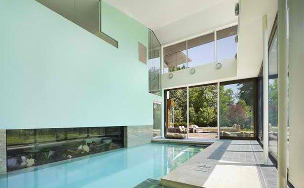 modern swimming pool rooms