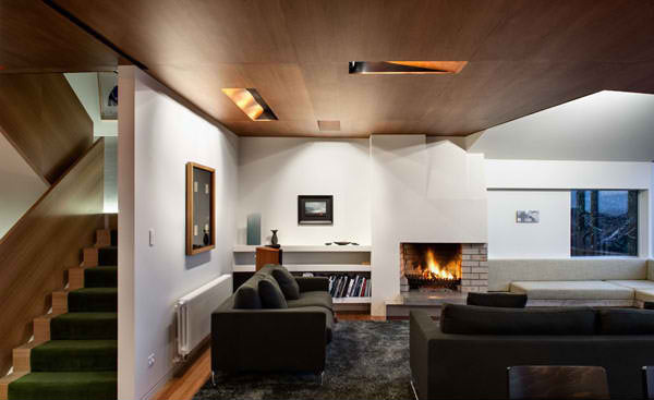 fireplace living room