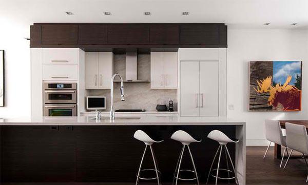 15 astounding peninsula-shaped modern kitchens | home design lover