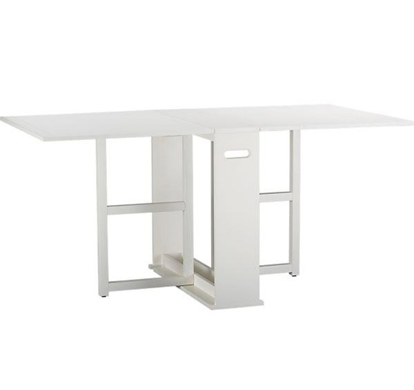 15 incredible drop leaf folding tables home design lover for Span white gateleg table