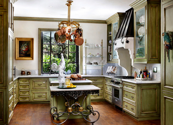 fabulous french country kitchen designs  home design lover, Kitchen design