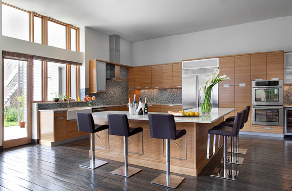 15 Astonishing Contemporary L-Shaped Kitchen Layouts   Home Design ...