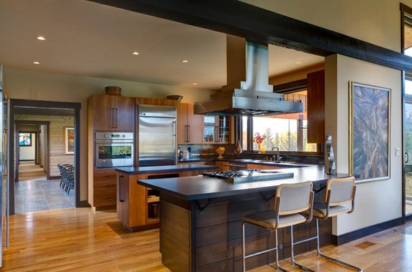 17 Beautiful Contemporary U-Shaped Kitchen Layouts