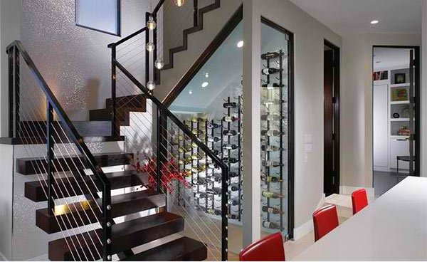 Understairs Wine Cupboard