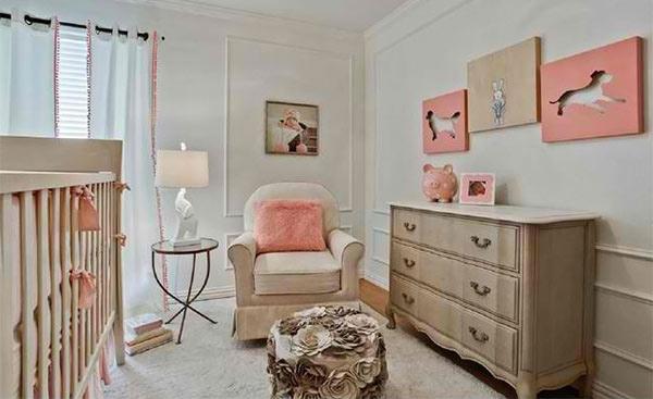 Girl Nursery Rn Interior Design