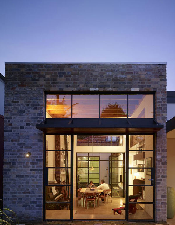 The industrial aesthetics of smee schoff house in australia home design lover - Industrial design homes ...