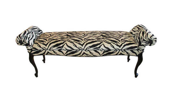 15 Animal Print Bedroom Benches For Safari Inspired Bedrooms Home Design Lover