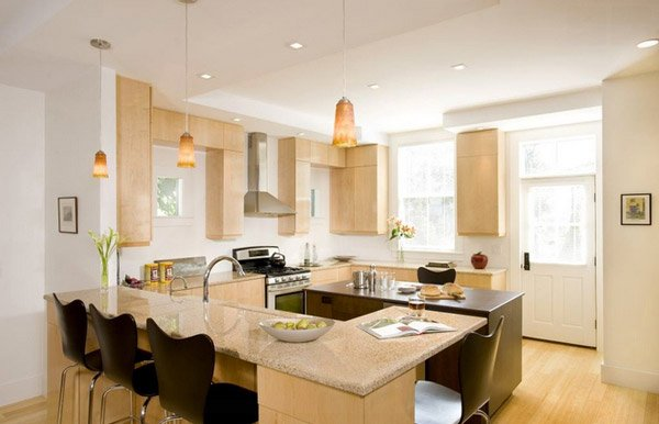15 Beautiful L Shaped Kitchens Home Design Lover photo - 5