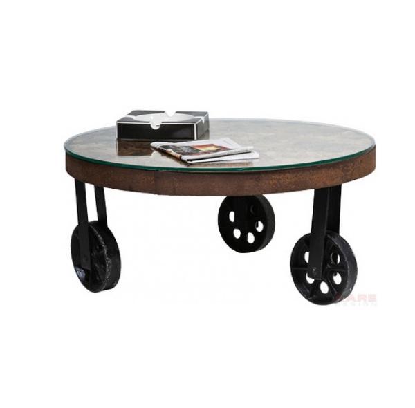 unique designs of 15 round oak coffee tables | home design lover