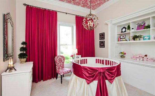 Baby Girl Nursery Bravo Interior Design