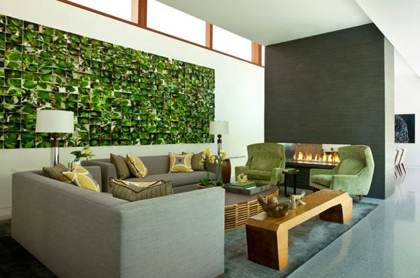15 contemporary grey and green living room designs home - Green and grey room ideas ...