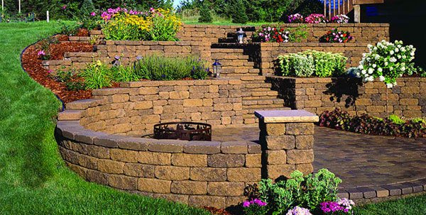 bricks landscape ideas