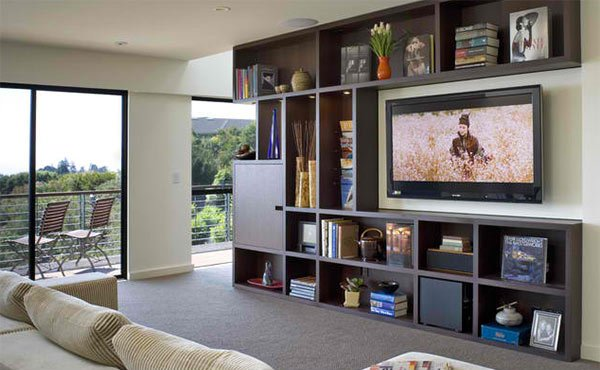 Awesome 15 Ideas For Tv Built In Media Wall In Modern Living Rooms Home Largest Home Design Picture Inspirations Pitcheantrous