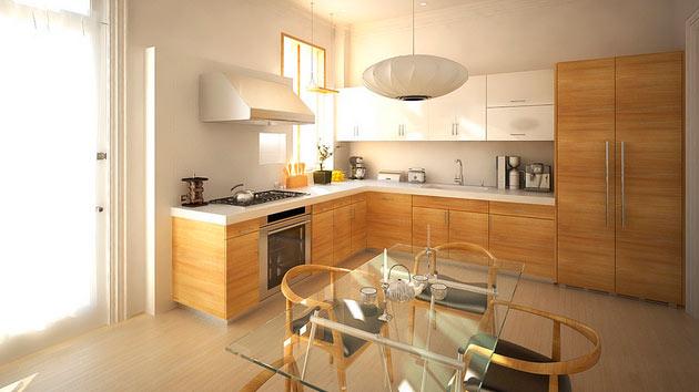 Modern Lshaped Kitchen Designs