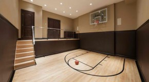 15 Ideas for Indoor Home Basketball Courts