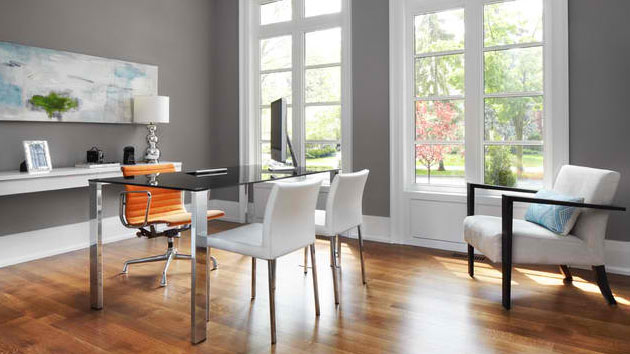 Gray Office Ideas