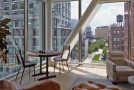 Impressive Relaxing Interior of An Apartment on the High Line in New York