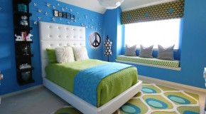 15 Killer Blue and Lime Green Bedroom Design Ideas