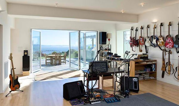 15 design ideas for home music rooms and studios home design lover