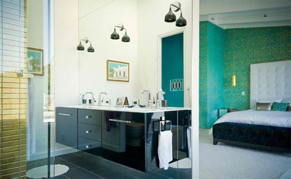 Crown Terrace Wardrobe Bathroom