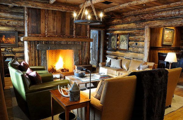 16 awesome western living room decors home design lover for Country western living room ideas