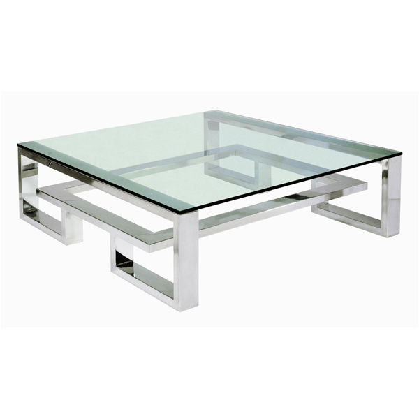 15 Awesome Designs Of Stainless Steel Rectangular Coffee Tables Home Design Lover