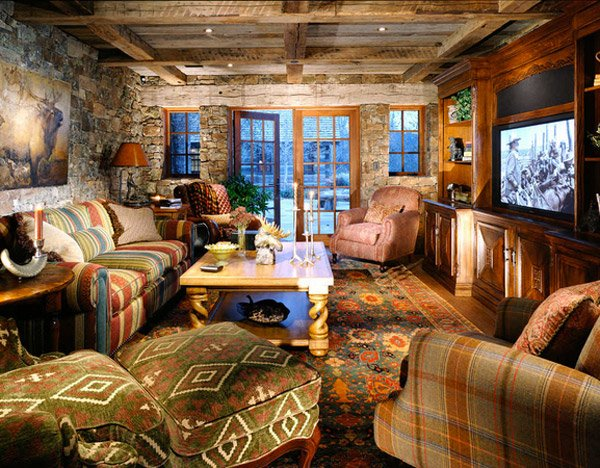 16 awesome western living room decors home design lover - Western decor ideas for living roommake a theme ...