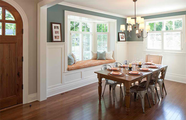 15 ideas in designing dining rooms with bay window home for Dining room window designs